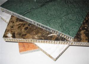 China Precision +/-0.1mm Metal Honeycomb Wall Panels Construction Building Materials on sale