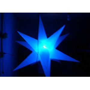 China 1m - 2m Diameter LED Inflatable Star , Inflatable Stage Decoration High Definition on sale