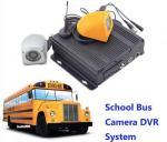 China CCTV Realtime 4 Camera Car DVR Recording / Mobile Bus Car Vehicle DVR Security System wholesale