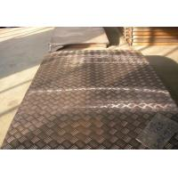 China Alloy Embossed Aluminum Sheet 5 Bars for Bus 5.2mm Thickness on sale
