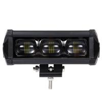 8D 8 Inch Waterproof SUV Led Light Bars With Bracket Led Driving Lamp 30W 2100LM
