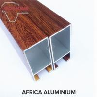 Wood Finish extruded aluminum profiles Boiling Resistance And Alkali Resistance