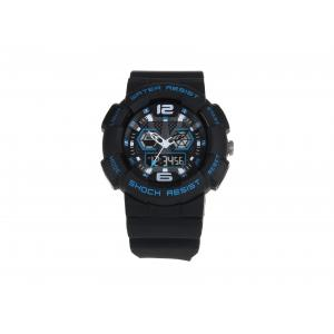 China 30 M Water Resistant Dual Display Sport Customized Electronic Wristwatch on sale