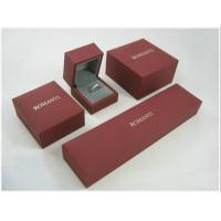 PU, Paper Jewellery Boxes with Panton Color Printing for bangle, ring, earring, jewelry