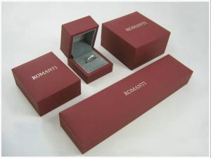 China PU, Paper Jewellery Boxes with Panton Color Printing for bangle, ring, earring, jewelry on sale