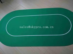 China Foldable Poker Felt Gambling Table Mat , Professional Mahjong Table Mats on sale