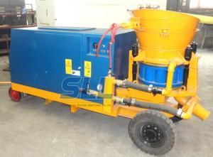 China Dry Refractory Concrete Shotcrete Gunning Machine 3m3/H Diesel Drive on sale