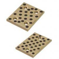 China High Load Graphite Bronze Wear Plates , Cast Bronze Plate C86300 VSB-50P on sale