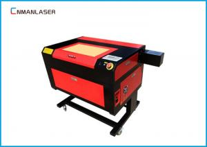 China 220v 50HZ Fast Speed 6090 Cnc Laser Engraving Cutting Machine For Sticker Labels on sale