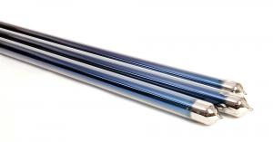 China Vacuum Glass Solar Hot Water Tubes , Solar Evacuated Tubes 1500mm / 1800mm Length on sale