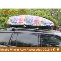 Universal SUV / CRV Car Roof Boxes with ABS Plastic Colorful Printing