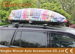 China Universal SUV / CRV Car Roof Boxes with ABS Plastic Colorful Printing on sale