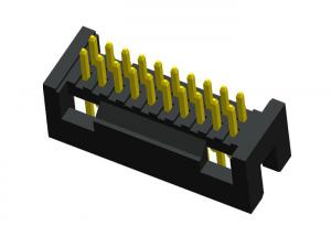 China 20 Pin Box Header Connector Straight Pcb Connectors Wire To Board 1.27mm on sale