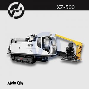 China XZ500 full hydraulic horizontal directional boring drilling rig on sale