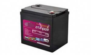 China high charge acceptance and quick recharge Golf Cart Battery DTA Series Batteries Reserve battery on sale