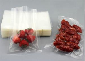 China Small Vacuum Clear Plastic Bags With Easy To Tear Mouth Moisture Proof on sale