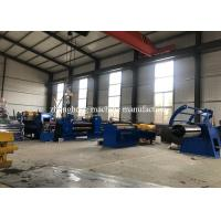 High Speed Hydraulic Steel Coil Slitting Line Machine For Stainless Steel