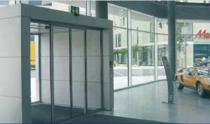 China High power Motor auto sliding glass door , commercial Glass sensor door on sale