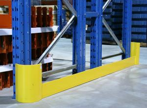 China L Style Warehouse Racking Stainless Steel Corner Guard System Upright Protector on sale