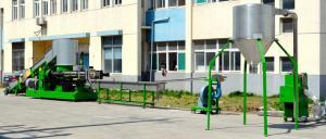 China Reciclaje de la máquina de la granulación del plástico, pelotillas plásticas automáticas que hacen la máquina on sale
