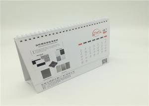 China Spiral Binding Customized Table Calendar Printing Services YH10 Offset Printing on sale