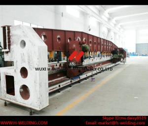 China Steel Plate / Carbon Sheet Edge Milling Machine for Box Beam Production Line on sale