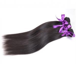 China Grade 8A Straight Brazilian Hair Extension , 100% Human Virgin Brazilian Hair Weave on sale
