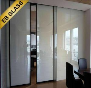 Quality best frosted glass film EBGLASS for sale