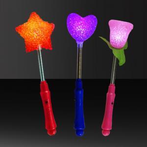 China Palillo multicolor del LED Rose para el concierto, partido y acontecimiento, la Navidad, decoración de Halloween o celebración del cumpleaños on sale