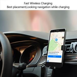 China Magnetic Wireless Car Charger Smart Wireless Phone Holder and Charger(C8) on sale