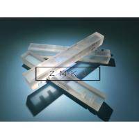 Lapped Surface Custom Sapphire Parts , Polished Synthetic Sapphire Rod