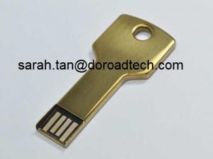 China Memorias USB formadas llave promocional del metal USB del regalo, chip de memoria original y nuevo del 100% on sale