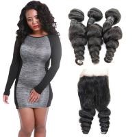 Natural Raw 10 Inch Loose Curly Human Hair Extensions 3 Bundles OEM Service