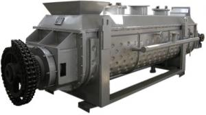 China Steam Heat Conducting Industrial Vacuum DryerCE With Stirring Hot Blade on sale