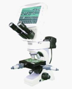 China Digital LCD Metallurgical Measuring Microscope with Measurement Stage on sale