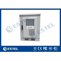 Small Size Outdoor Telecom Equipment Cabinets Customized Sheet Metal Box With Heat Exchanger