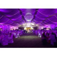 Wedding Tent with Beautiful Lights Show and Decoration Linging for Outdoor Events or Parties
