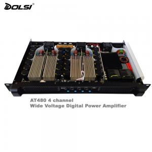 1200W Wide operating Voltage PFC 4 channel 1U Class-D High Power