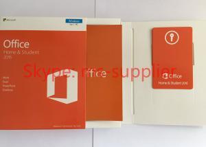 China Microsoft Office Professional 2016 Product Key 64 Bit Full Version , Microsoft Office Retail Box on sale
