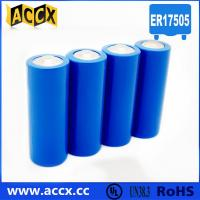 A size ER17505M 3.6V 2800mAh non-rechargeable battery