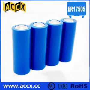 China A size ER17505M 3.6V 2800mAh non-rechargeable battery supplier