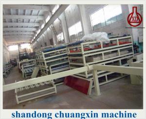 China Eps Sandwich Panel Fiber Cement Board Production Line , Fiber Cement Board Machine on sale
