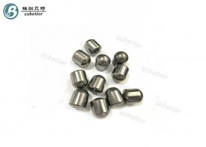 China Precise Design Rock Drilling Tools Dome Carbide Teeth Inserts With Blank / Finished Surface on sale