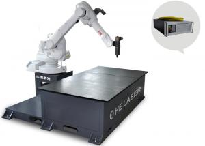 China Multifunctional Industrial Fibre Laser Welding Machine 120MM Electric Lift Travel on sale