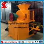 China Slag fluorite microsilica iron ore fines coal dust charcoal mineral powder hydraulic briquetting machine factory price wholesale
