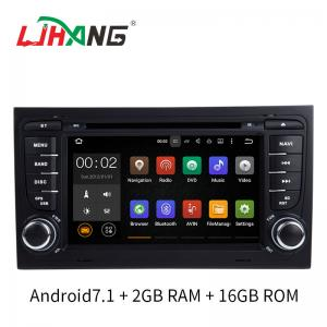 China Car Steering Wheel Control Car Dvd Player With Navigation System Android 7.1 on sale