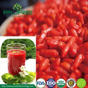 China Organic Clear Goji Juice Concentrate /Puree Goji Juice on sale