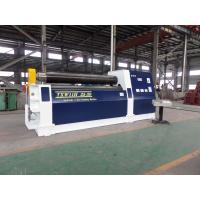 China Hydraulic 3 Roll Bending Machine , 25 - 30 mm Thickness Plate Rolling Machine on sale