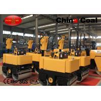 Equipment Used For Road Construction , Double Drum Asphalt Roller Road Roller