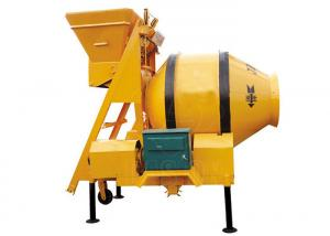 China Small Portable 350L Hydraulic Concrete Mixing Equipment Hopper Lift For Building on sale
